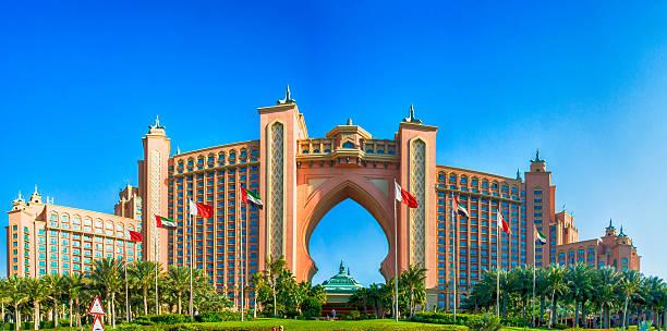 Atlantis, The Palm - Hotel in Dubai stock photo