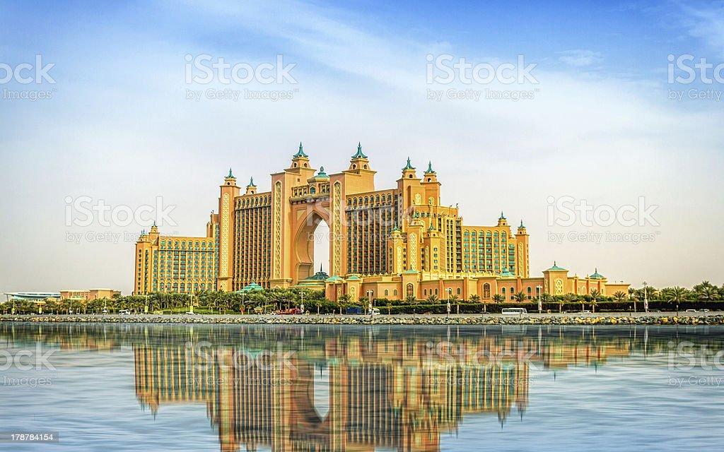 Atlantis The Palm stock photo