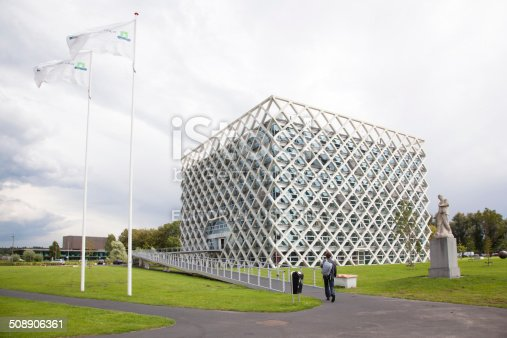 istock atlas building on Wageningen university campus 508906361