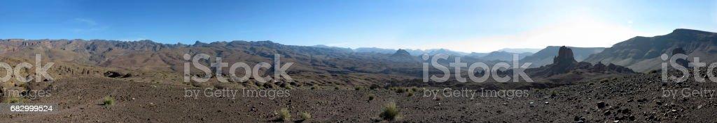 Atlas Gebirge stock photo