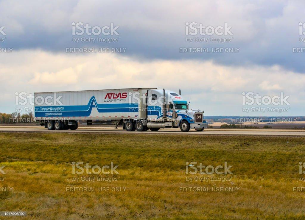 Foto de Atlas Logística e mais fotos de stock de A caminho