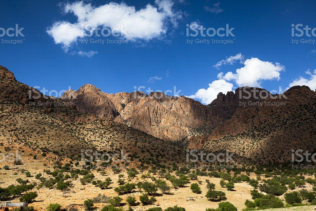 Atlas mountains, Morocco royalty-free stock photo