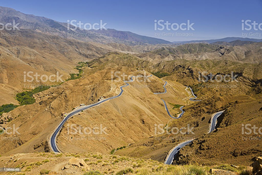 Atlas mountains royalty-free stock photo