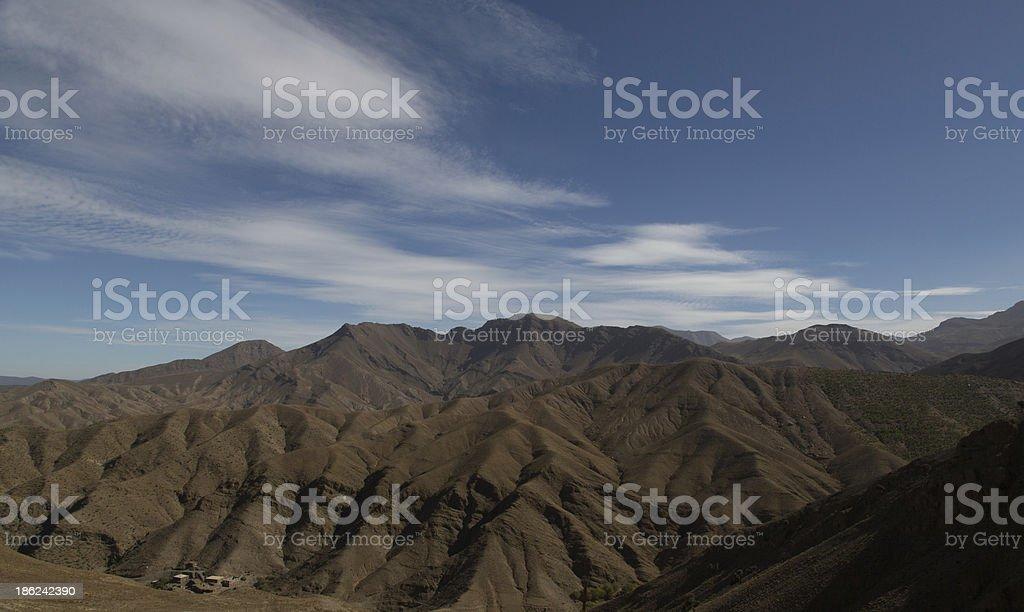Atlas Mountains stock photo
