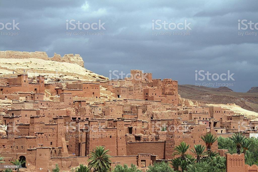 Atlas region Casbah stock photo