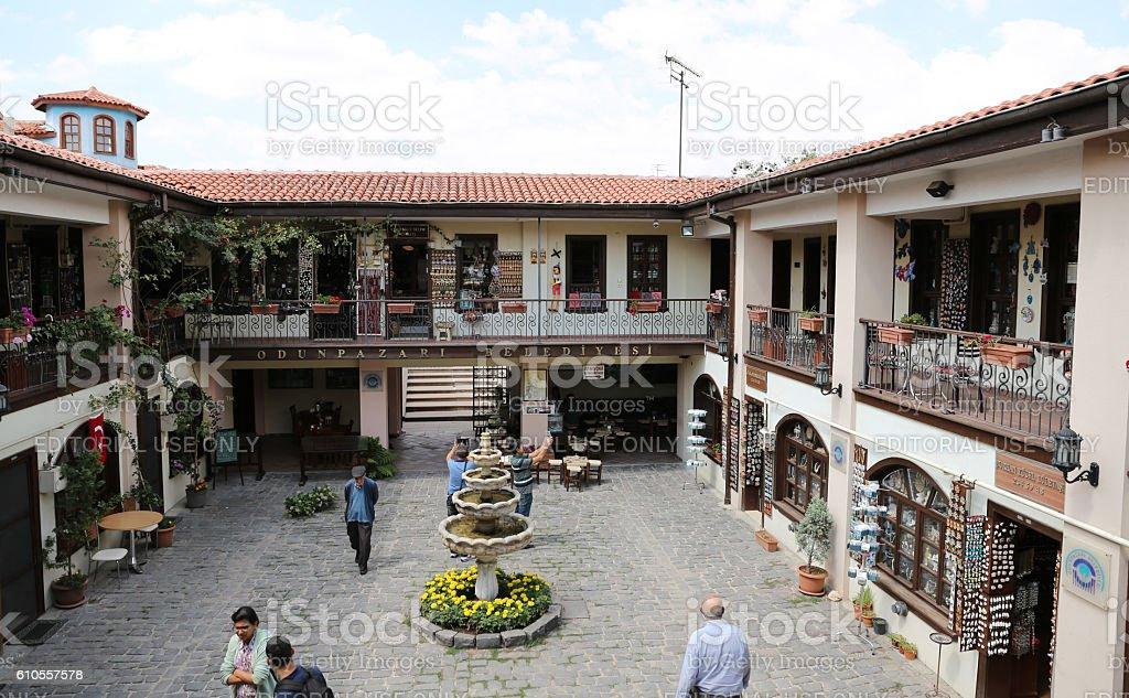 Atlihan handicrafts bazaar - Royalty-free Bazaar Stockfoto
