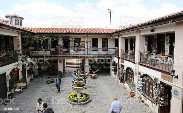 Atlihan Handicrafts Bazaar Stockfoto en meer beelden van Bazaar
