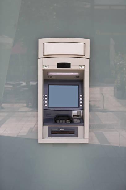 Atm Bankomat stock photo
