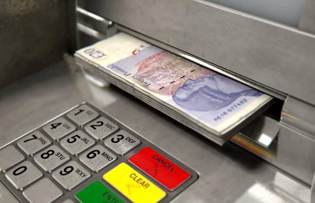 Cajero automático de efectivo Withdrawel Fachada - foto de stock