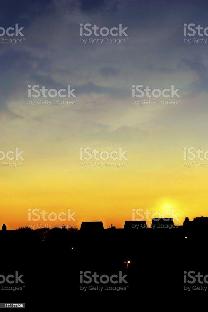 Atmosphere - Urban stock photo