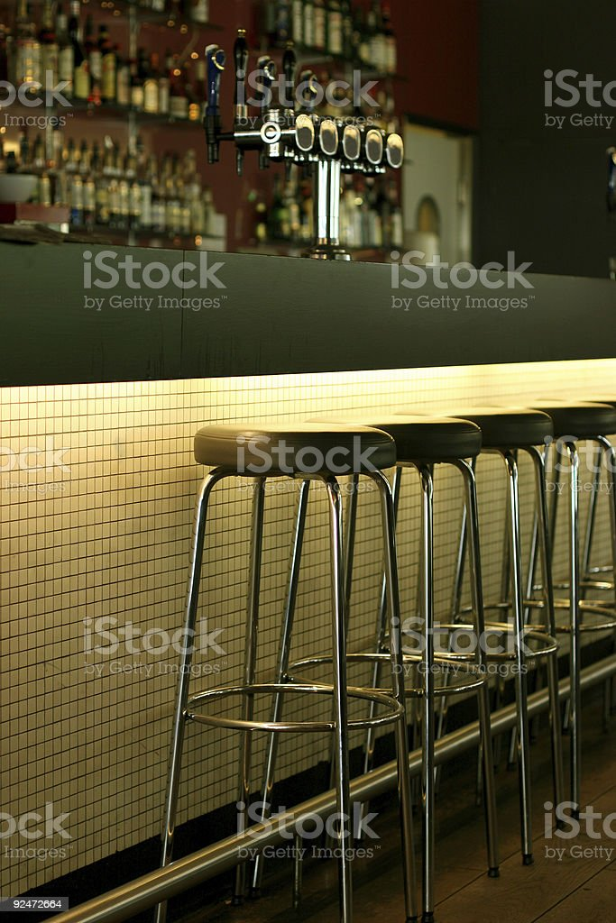 Atmospheric bar royalty-free stock photo