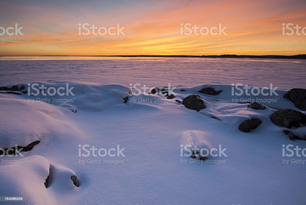 Atmospheric landscape royalty-free stock photo