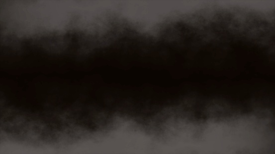 Atmospheric Smoke, Fog, cloud, smooth Movement, Modern abstract background animation 3d render