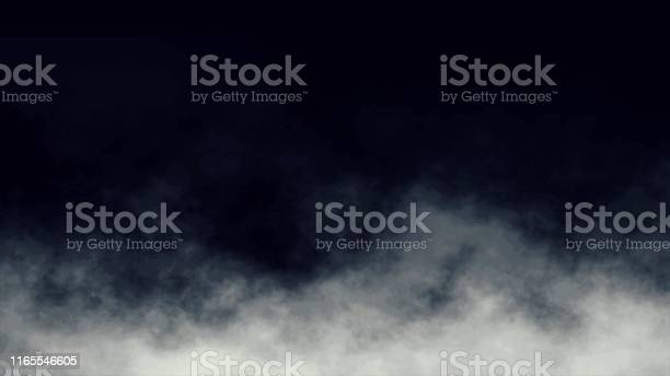 Photo of Atmospheric Smoke, Fog, cloud, smooth Movement, Modern abstract background animation 3d render