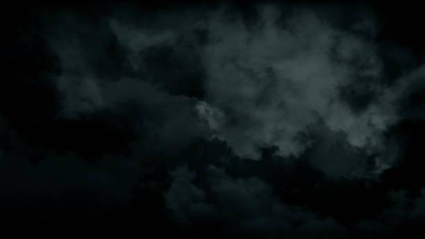 大気不気味なハロウィーンの煙。抽象的なヘイズ霧の背景 - halloween ストックフォトと画像