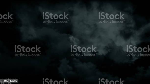 Photo of Atmospheric spooky halloween smoke. Abstract haze fog background