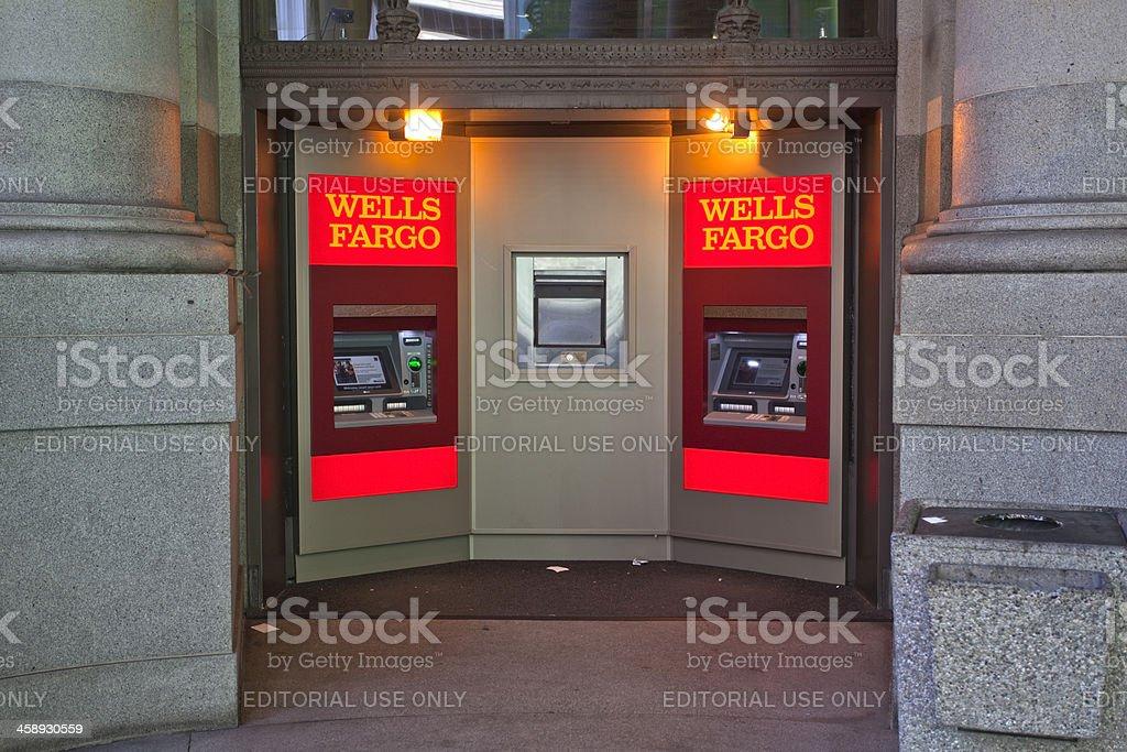 ATMs stock photo