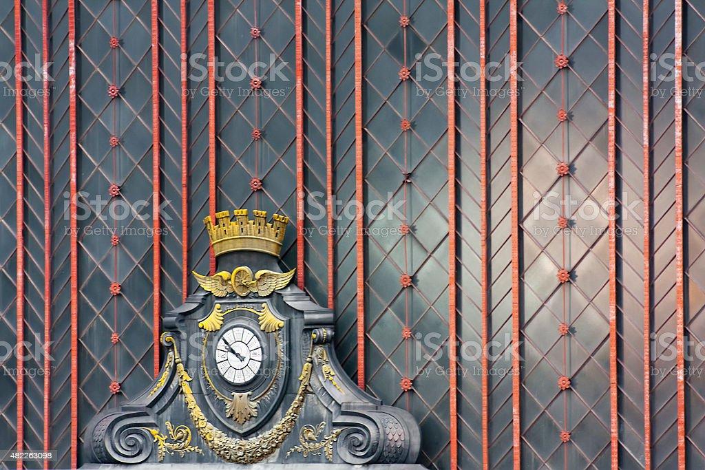 Fachada de la estación de tren Atocha. - foto de stock