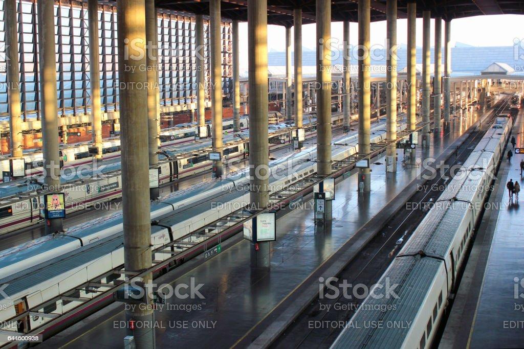 Estación de Atocha en Madrid, España - foto de stock