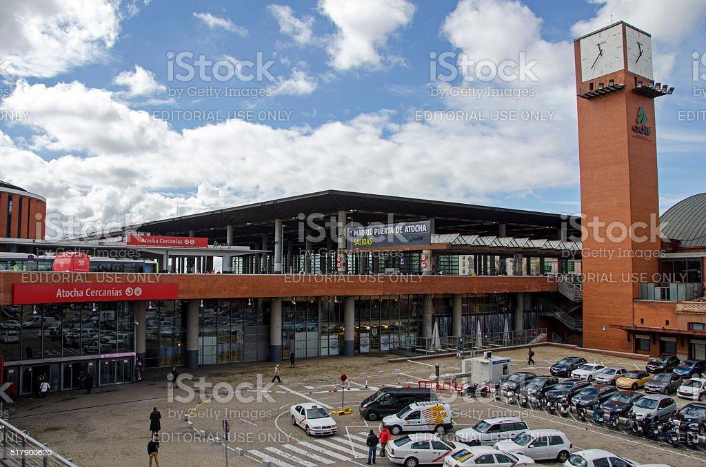 Atocha ferrocarril estación. - foto de stock