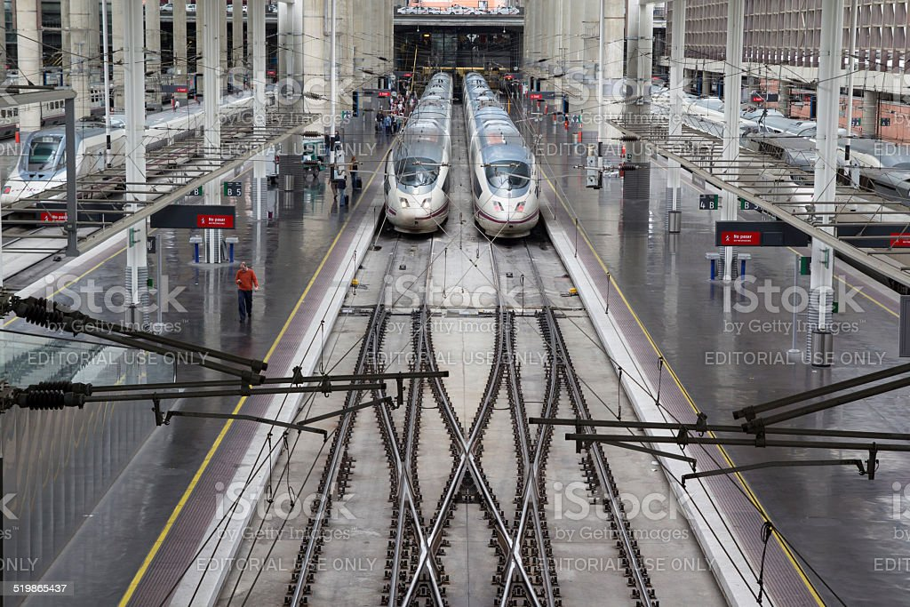 Estación de Atocha - foto de stock