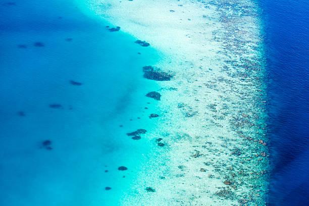 Atollo delle Maldive, Atollo di Ari Nord gruppo - foto stock
