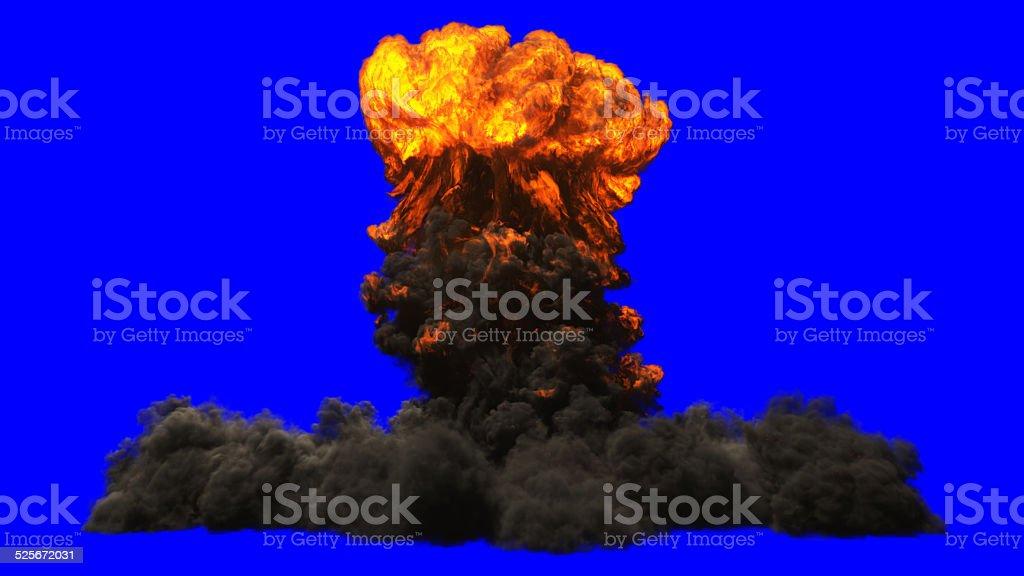 Atom bomb stock photo