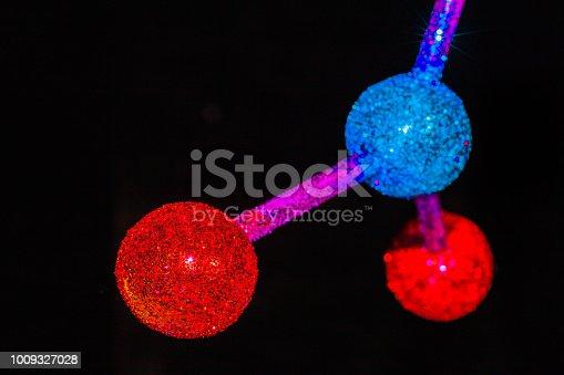 istock atom or molecule structure of Barium Nitrate 1009327028
