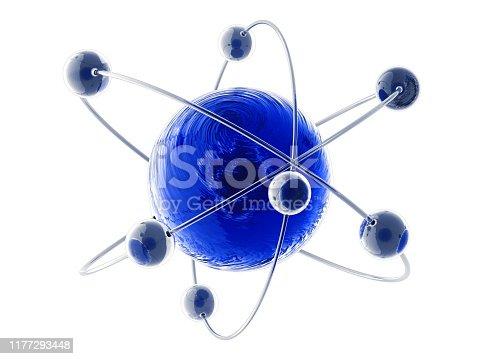 525225194 istock photo Atom 1177293448