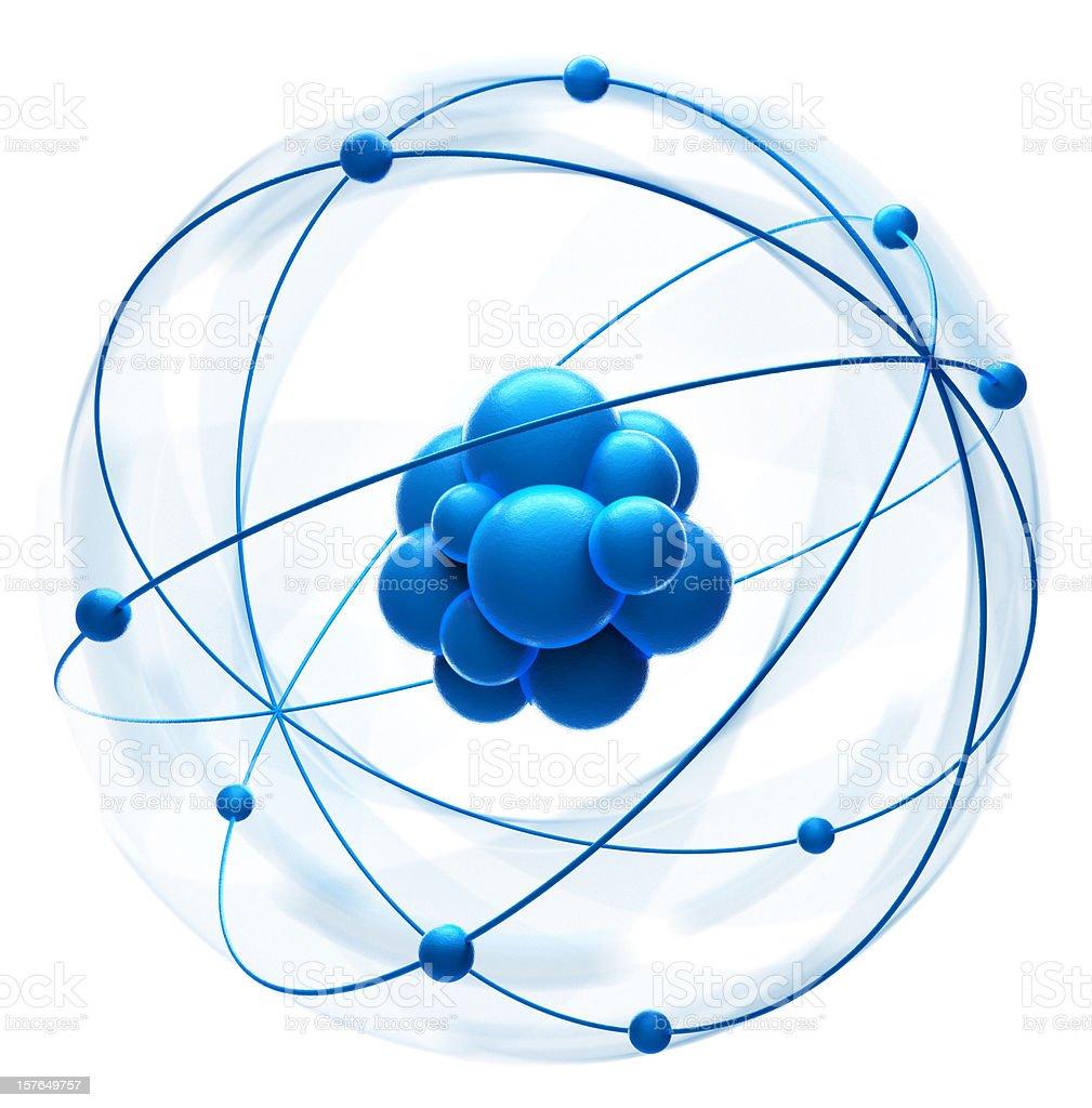 Atom - foto de stock