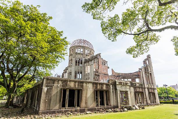 bomba atomowa kopułowej w hiroszima - hiroshima zdjęcia i obrazy z banku zdjęć