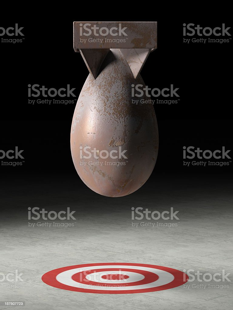 Atomic Bomb royalty-free stock photo
