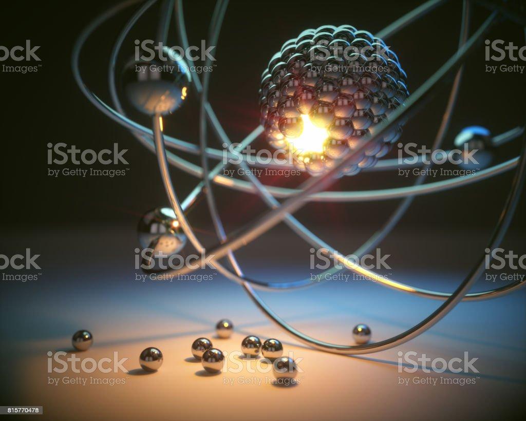 Atomic Energy Power stock photo