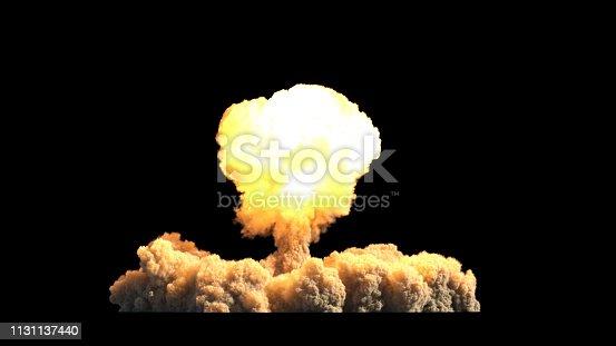 istock Atomic explosion 1131137440