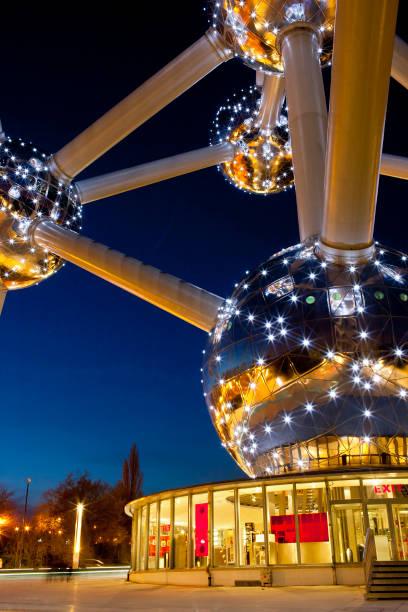 Atomium, Brüssel, Belgien – Foto