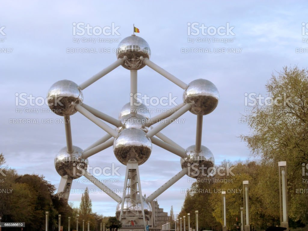 Atomium foto de stock royalty-free