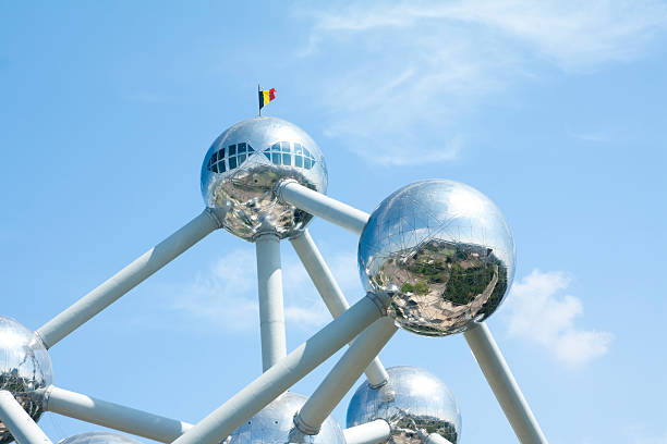 Atomium, the building in Brussels – Foto