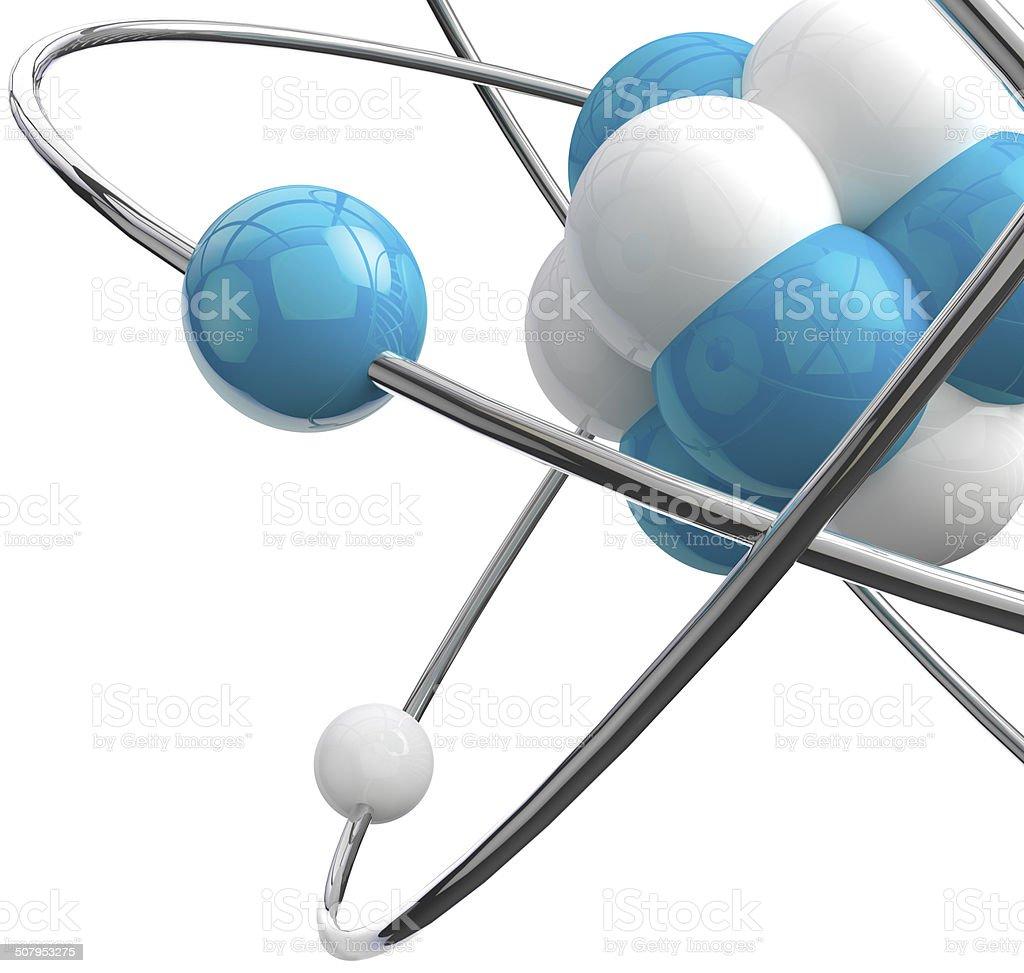 atom.Science object stock photo