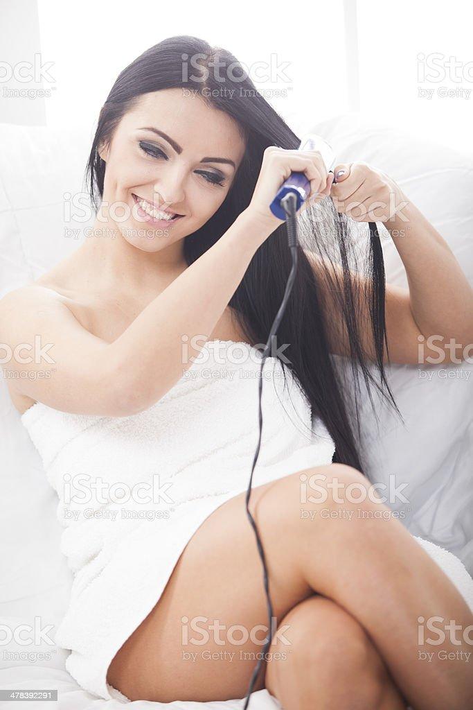atractive female royalty-free stock photo