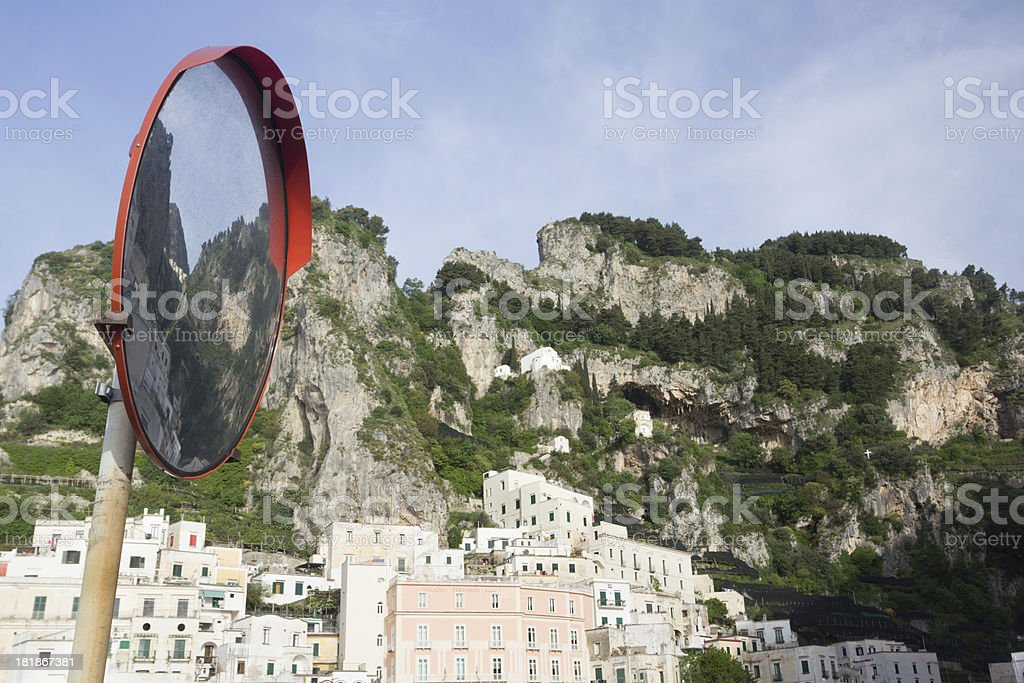 Atrani on the Amalfi Coast, Italy stock photo