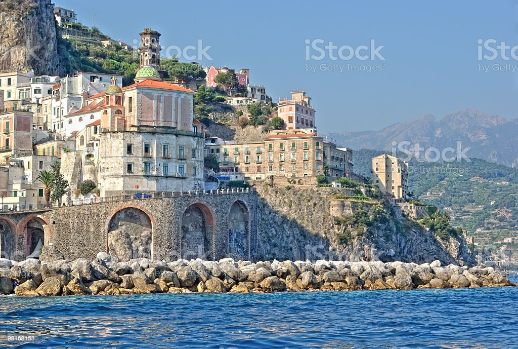 Atrani (Amalfi Coast,Italy) royalty-free stock photo