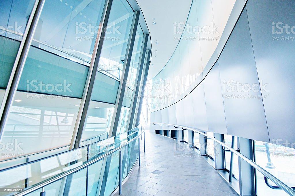 Atrium or Corridor, Hallway stock photo