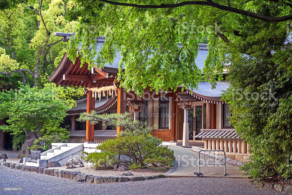 Atsuta shrine in Nagoya, Japan royalty-free stock photo