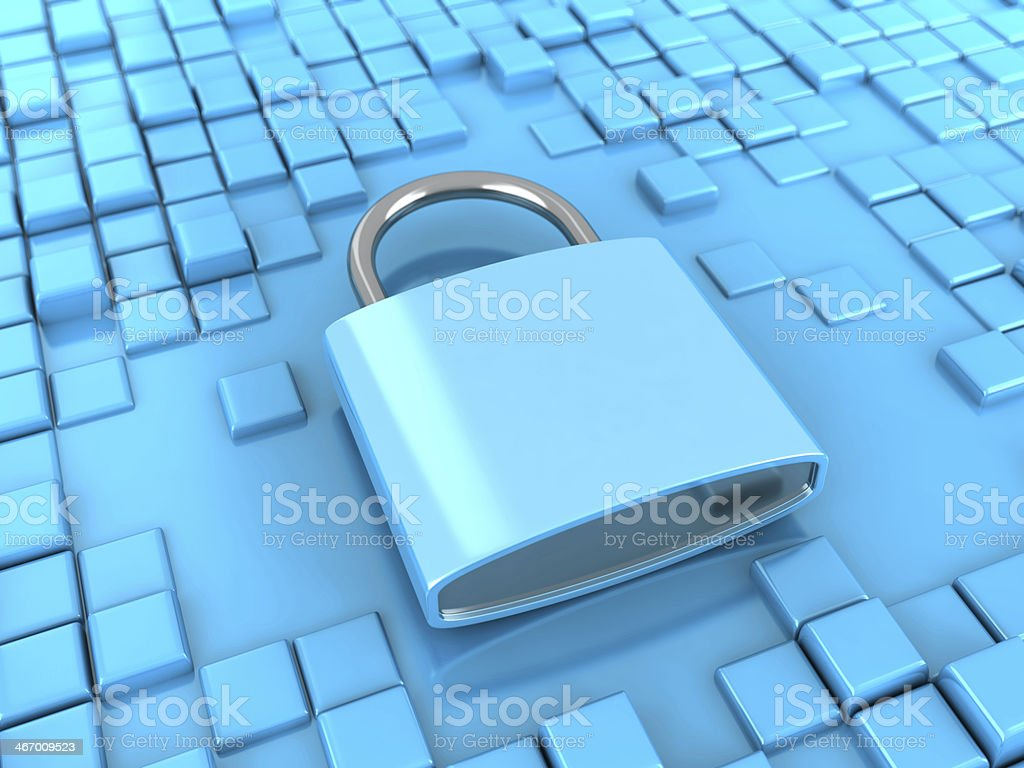 Attached royalty-free stock photo