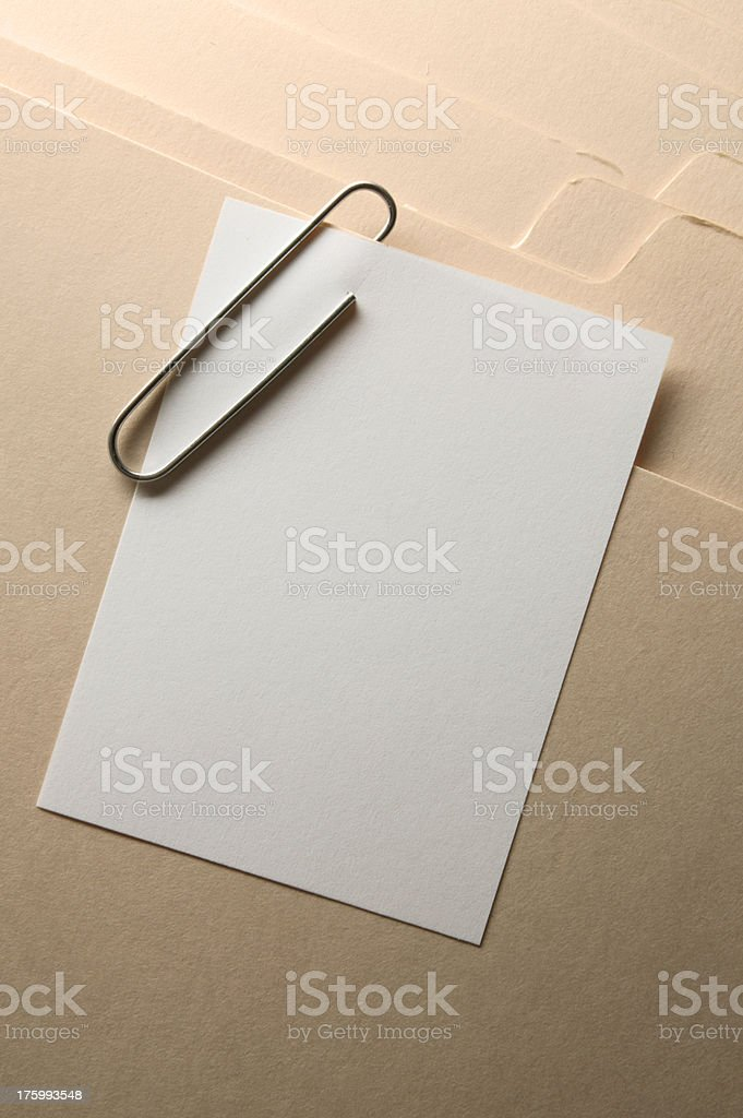 Attachment royalty-free stock photo