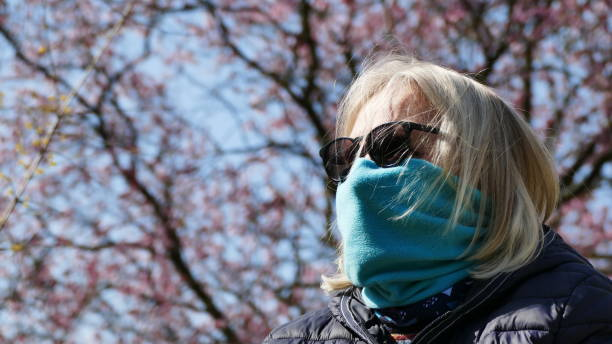 aanval van stuifmeel en virussen - zelfgemaakt stockfoto's en -beelden