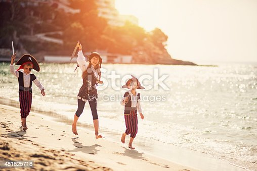 istock Attack of the fearsome little pirates 481825718