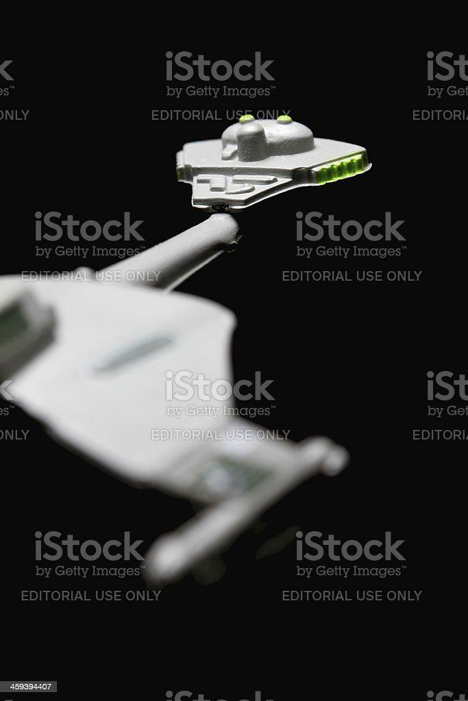 Attack Ship stock photo