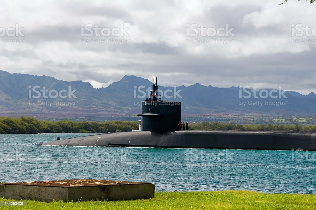 Attack Submarine royalty-free stock photo