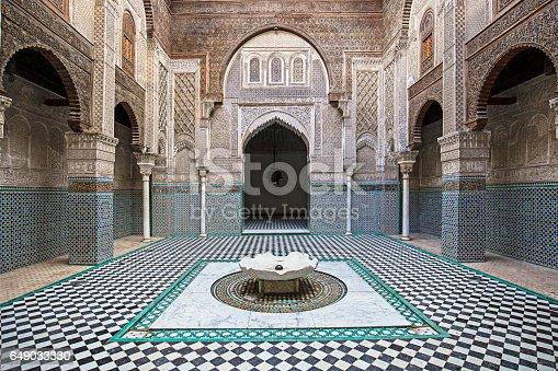 istock Attarine Madrasa Fez Madressa 649033330